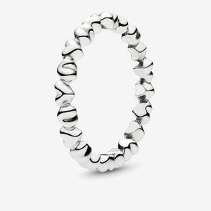 🍓Pandora Forever Love Stackable Heart Ring